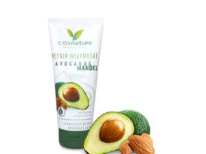 Cosnature – Μάσκα Μαλλιών Αναδόμησης & Εντατικής Θρέψης με Avocado & Αμύγδαλο