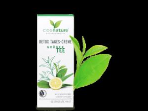 Cosnature – Κρέμα Ημέρας Detox με Πράσινο Τσαι