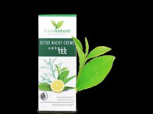 Cosnature – Κρέμα Νυκτός Detox με Πράσινο Τσάι