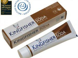 Kingfisher Natural – Φυσική οδοντόκρεμα Baking Soda Χωρίς Φθόριο