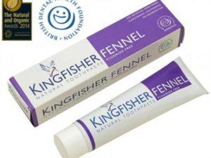 Kingfisher Natural – Φυσική Οδοντόκρεμα με Μάραθο Χωρίς Φθόριο