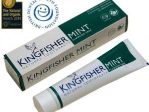 Kingfisher Natural – Φυσική οδοντόκρεμα με Μέντα Χωρίς Φθόριο