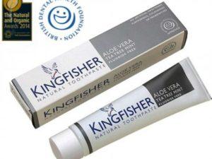 Kingfisher Natural – Φυσική οδοντόκρεμα με Αλόη, Τεϊόδεντρο και Μέντα Χωρίς Φθόριο