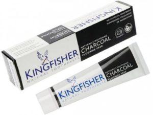 Kingfisher Natural – Φυσική οδοντόκρεμα Charcoal Χωρίς Φθόριο