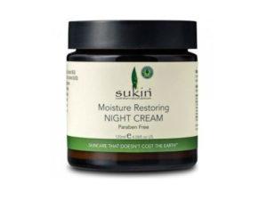 Sukin – Επανορθωτική Κρέμα Νυκτός με Αγριοτριανταφυλλιά