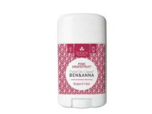 Ben & Anna Deodorants – Φυσικό Αποσμητικό Stick Pink Grapefruit με Άρωμα Γκρέιπφρουτ