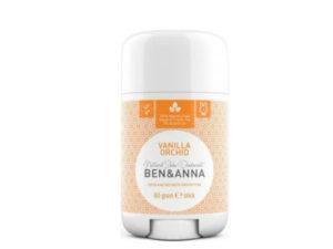 Ben & Anna Deodorants – Αποσμητικό Stick με Φυσικό Άρωμα Βανίλιας – Vanilla Orchid