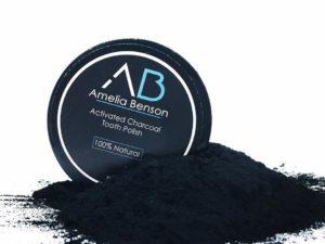 Amelia Benson – Ενεργός Άνθρακας για Λεύκανση των Δοντιών