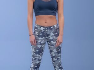 Bodymove Military Capri Κολάν