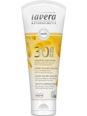 Lavera Αντηλιακή κρέμα με SPF30 για πρόσωπο & σώμα / SPF30 Soft Sun Cream 100ml