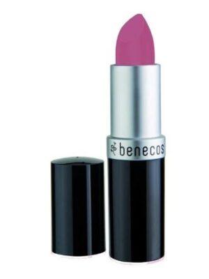 Benecos – Βιολογικό Κραγιόν Pink Rose / Natural Lipstick 4,5gr-pink-rose