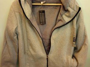 Body move wolf jacket Γκρι Με Εσωτερική Γούνα Unisex