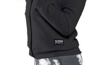 BodyMove Fitness Ζακέτα Τρίκλωνη -Μαύρο