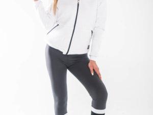 BodyMove Fitness Ζακέτα Τρίκλωνη Λευκό