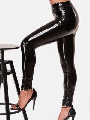 Bodymove Skin Touch Feel Legging-Γυναικείο Κολάν Δερματίνη