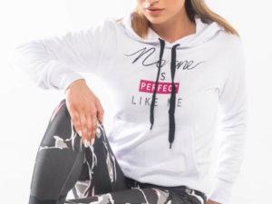 bodymove sharp hoodie-Γυναικείο φούτερ