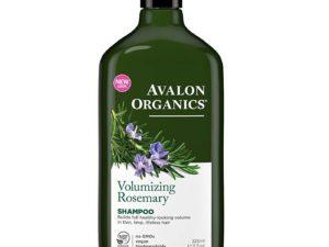 Avalon Organics Σαμπουάν με Δεντρολίβανο για λεπτά μαλλιά χωρίς όγκο Rosemary Volumizing Shampoo
