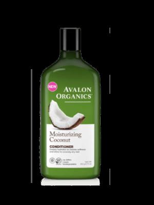 Avalon Organics – Conditioner Moisturizing Coconut με Καρύδα , Πρωτεϊνες Κινόα, Αλόη και Χαμομήλι Για ενυδατωμένα, υγιή μαλλιά που λάμπουν!