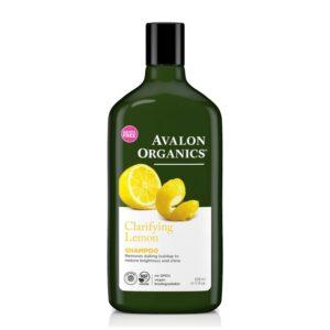 Avalon Organics Σαμπουάν με Λεμόνι για Λιπαρά & Θαμπά Μαλλιά