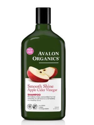 Σαμπουάν με Μηλόξυδο για Απαλά & Λαμπερά Μαλλιά 325ml Avalon Organics