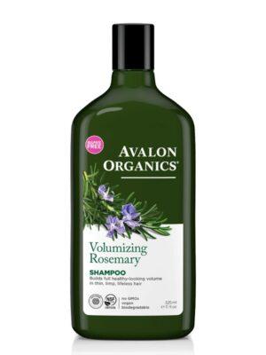 Σαμπουάν με Δεντρολίβανο για Λεπτά χωρίς Όγκο Μαλλιά 325ml Avalon Organics
