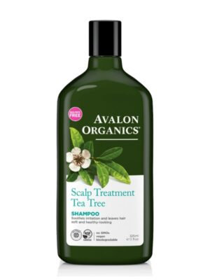 Σαμπουάν με Tea Tree και Βιταμίνες κατά της Ξηροδερμίας 325ml Avalon Organics