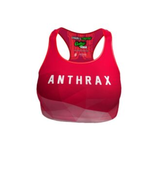 Flamingo - Crop Top Anthrax Mashines