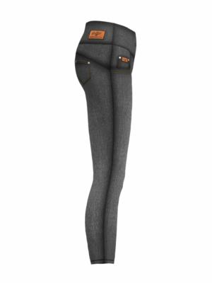Revo B&W Fitness Leggings Anthrax Sportswear