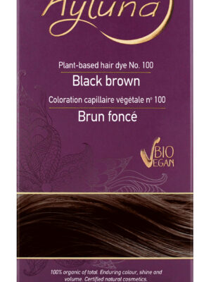 Ayluna 100% Βιολογική Βαφή Μαλλιών Black brown Nr100
