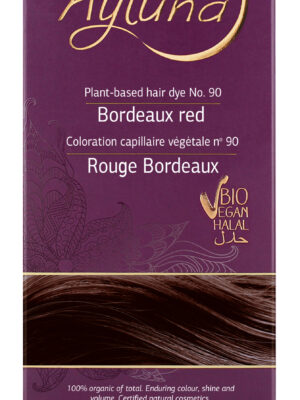 Ayluna-100-Βιολογική-Βαφή-Μαλλιών-Bordeaux-red-Nr90