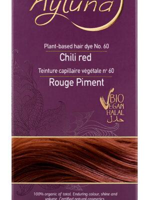 Ayluna-100-Βιολογική-Βαφή-Μαλλιών-Chili-red-Nr60