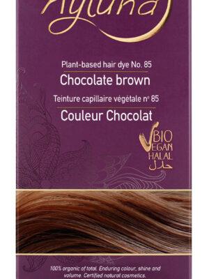 Ayluna-100-Βιολογική-Βαφή-Μαλλιών-Chocolate-brown-Nr85