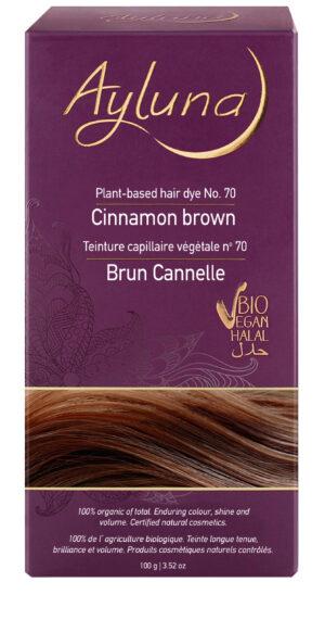 Ayluna-100-Βιολογική-Βαφή-Μαλλιών-Cinnamon-brown-Nr70