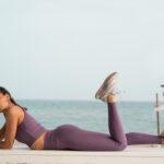 Κολάν Push Up Fit Lilac Superstacy