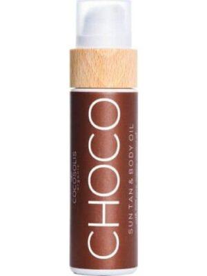 CHOCO Sun Tan & Body Oil για Γρήγορο & Έντονο Μαύρισμα Cocosolis 110ml