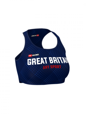 Great Britain Fitness Top Anthrax Mashines