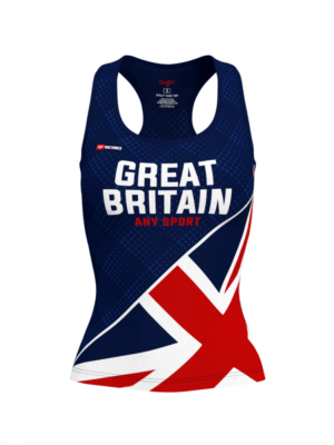 Great Britain Fitness Tank Anthrax Mashines