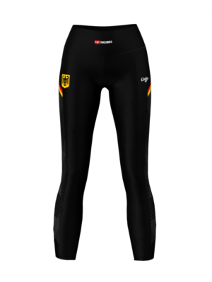 German National Team Fitness Leggings Anthrax Sportswear