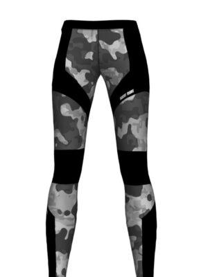 Exo Camo Fitness Leggings Anthrax Sportswear