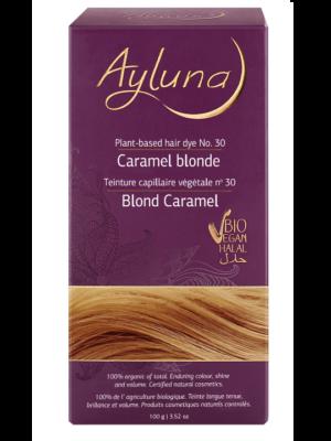 Ayluna 100% Βιολογική Βαφή Μαλλιών Caramel blonde Nr30