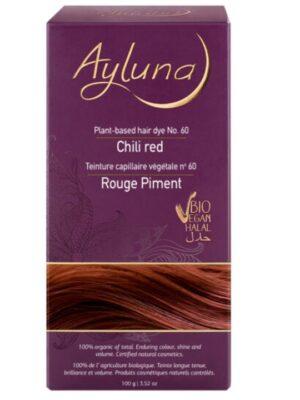 Ayluna 100% Βιολογική Βαφή Μαλλιών Chili red Nr60