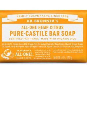 Αγνό-Σαπούνι-Καστιλλης-Σε-Μπάρα-Εσπεριδοειδή-Dr.Bronners