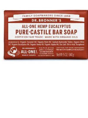 Αγνό-Σαπούνι-Καστιλλης-Σε-Μπάρα-Ευκάλυπτος-Dr.Bronners