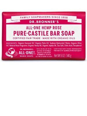 Dr.Bronner's Rose Soap Bar
