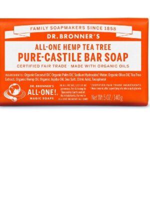 Αγνό-Σαπούνι-Καστιλλης-Σε-Μπάρα-Τεϊόδεντρο-Dr.Bronners
