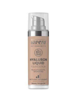 Υγρό Make-up με Υαλουρονικό οξύ Honey Beige 04 30ml Lavera