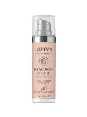 Υγρό Make-up με Υαλουρονικό οξύ Ivory Rose 00 30ml Lavera