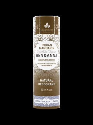 Φυσικό Αποσμητικό Stick Paper Tube Indian Mandarin 60gr Ben & Anna Deodorants