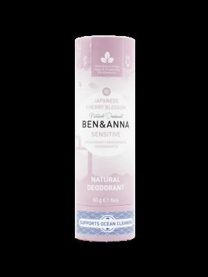 Φυσικό Αποσμητικό Stick Sensitive Japanese Cherry Blossom 60gr Ben & Anna Deodorants