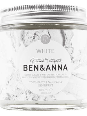 Οδοντόκρεμα Λεύκανσης White 100ml Ben & Anna